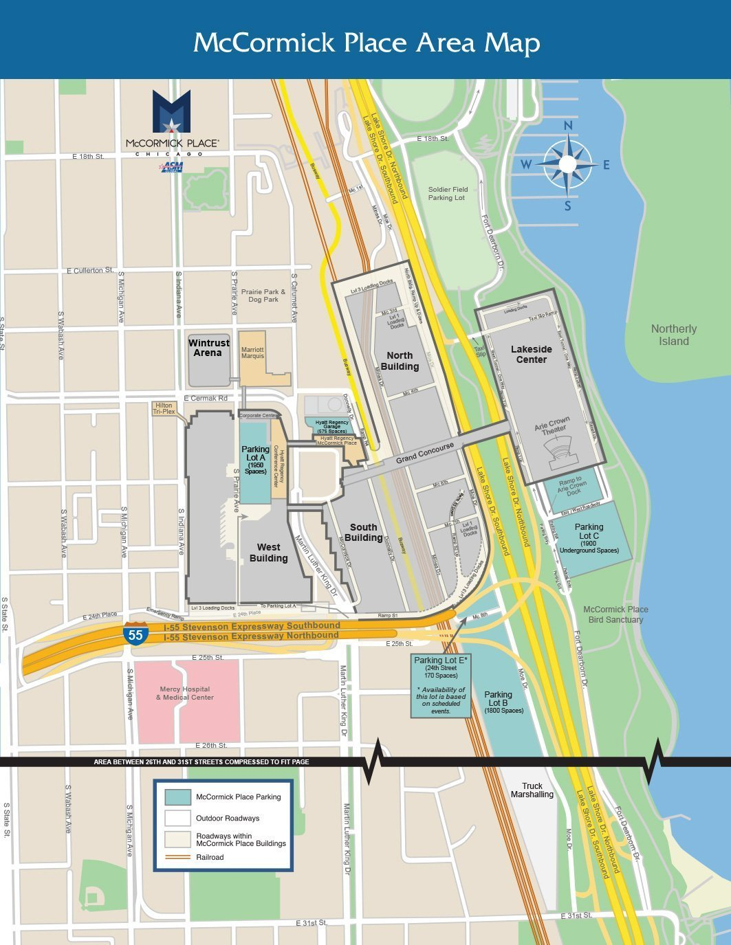 Parking & Rates - McCormick Place